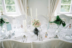 White Mint Wedding