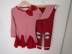 Nautical - Sabrina Dress Top Leggings Set
