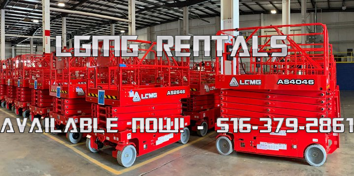 LGMG Rentals Available Now - 516-379-2861