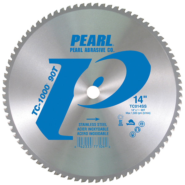 Pearl Abrasive TC-1000™ Stainless Steel Carbide Tip Blades