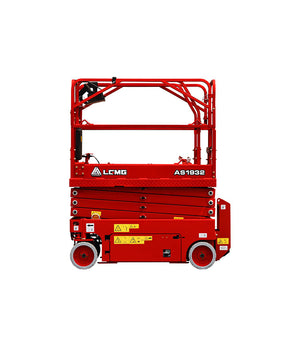 AS1932 Hydraulic Motor Drive Scissor Lift 19 FT For Rent