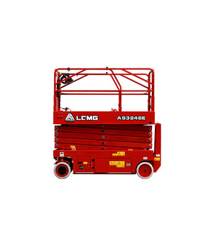 AS3246E Electric Motor Drive Scissor Lift 32 FT For Rent