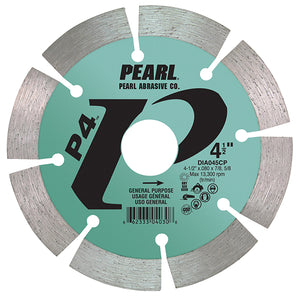 Pearl Abrasive Diamond Segmented Blade P4™ General Purpose 4 Inch