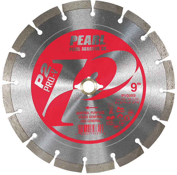 Pearl Abrasive P2™ Pro-V™ General Purpose 9 Inch