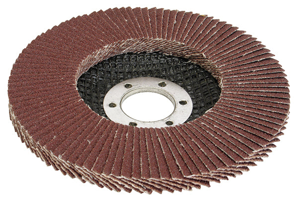 4-1/2 x 7/8 Silver Line™ AO Maxidisc™ Flap Discs for Metal, Type 27 Shape reverse