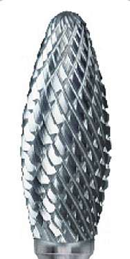 Pearl Abrasive Carbide Bur Premium Double Cut - SH