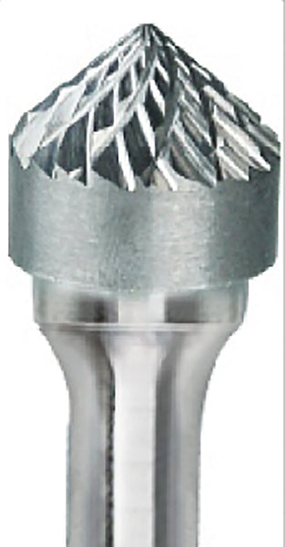 Pearl Abrasive Carbide Bur Premium Double Cut - SK