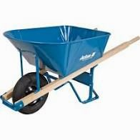 6 Cu. Ft. Wheelbarrow (Air Tire or Flat Free)