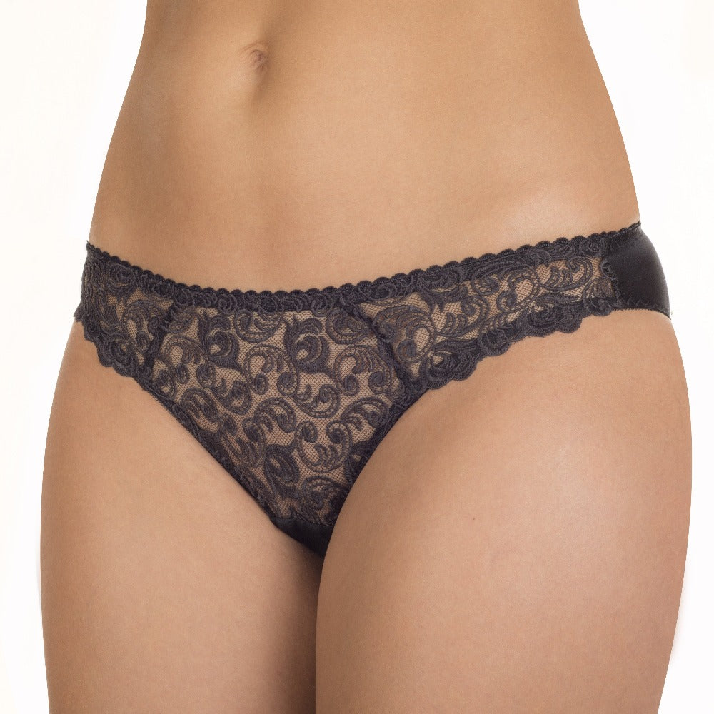 Nikol Djumon Black Evelyn Briefs
