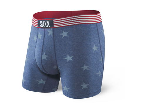 SAXX Vibe Americana Chambray Boxer Brief