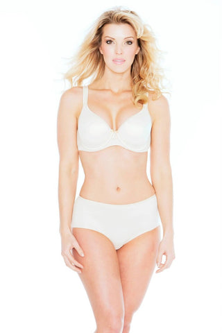 Champagne Crystal Smooth T-Shirt Bra