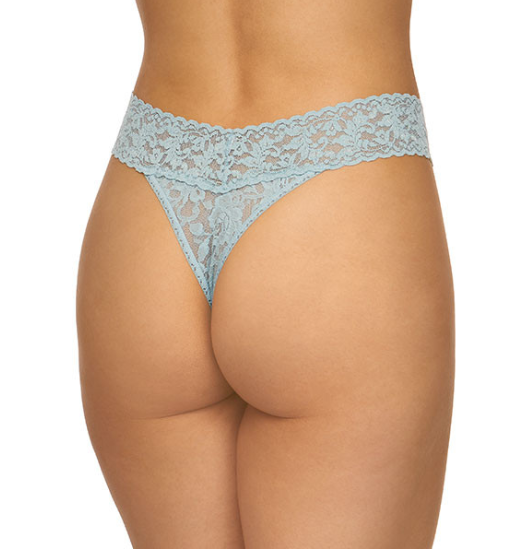 Hanky Panky Signature Lace Original Rise in Duck Egg