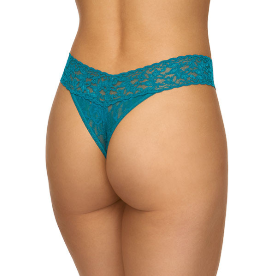 Hanky Panky Signature Lace Original Rise in Moodstone Green