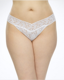 Hanky Panky Plus Size White Signature Lace Thong