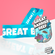 Great Barrier Reef Challenge - Entry + Medal