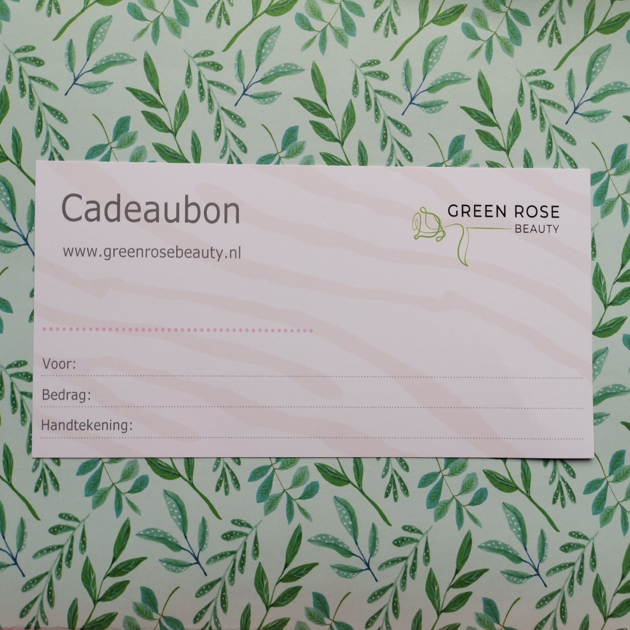 Cadeaubon Green Rose Beauty €15
