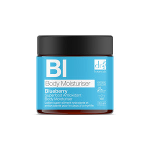 Dr Botanicals Madagascan Blueberry Superfood Antioxidant Body Moisturiser
