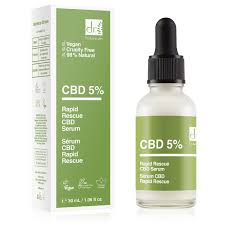 Dr Botanicals CBD 5% Rapid Rescue CBD Serum