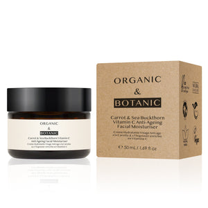 Dr Botanicals Carrot & Sea Buckthorn Moisturiser
