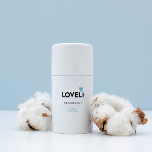 Loveli Deodorant Stick XL - Fresh Cotton