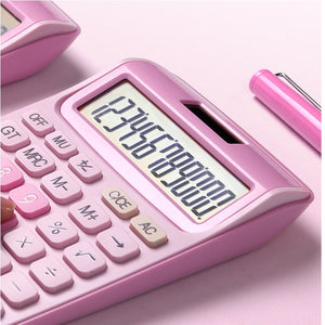 12 Digit Desk Calculator Large Buttons