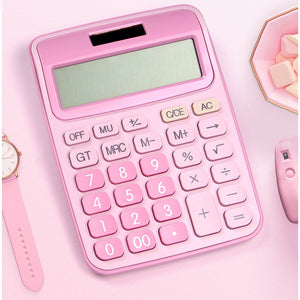 Open image in slideshow, 12 Digit Desk Calculator Large Buttons