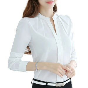 Open image in slideshow, V-Neck Office Top