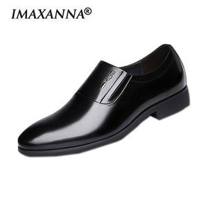 Open image in slideshow, Men's Casual Leather Dress shoe