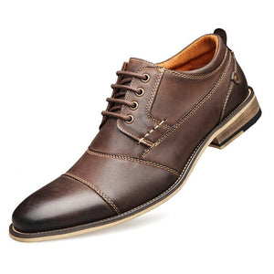 Open image in slideshow, Business Casual Soft Leather Dress Shoe