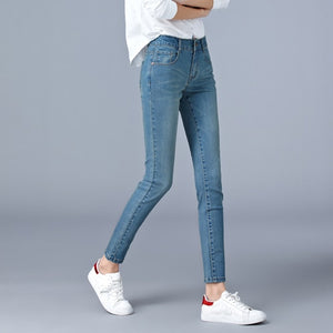 Open image in slideshow, Casual Pencil Jeans