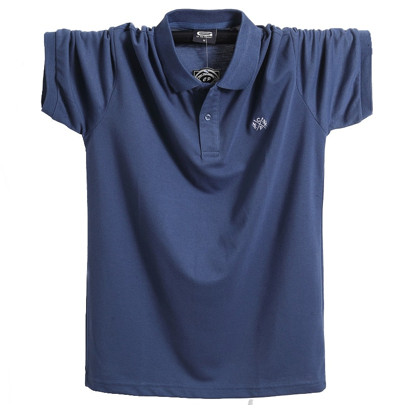 Pure Cotton Casual Polo T-Shirt