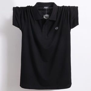 Open image in slideshow, Pure Cotton Casual Polo T-Shirt