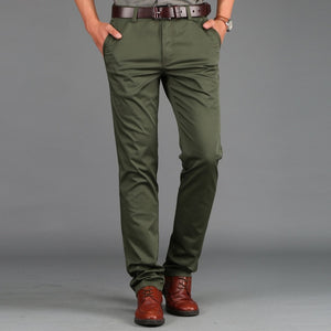 Open image in slideshow, Business casual straight leg pants