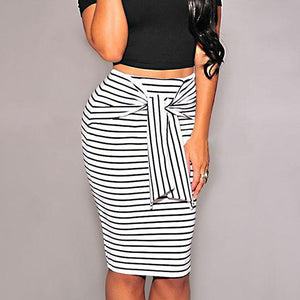 Open image in slideshow, Striped Skirt