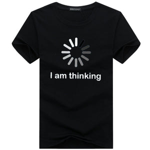 "Open image in slideshow, Graphic ""I am thinking"" Tee"