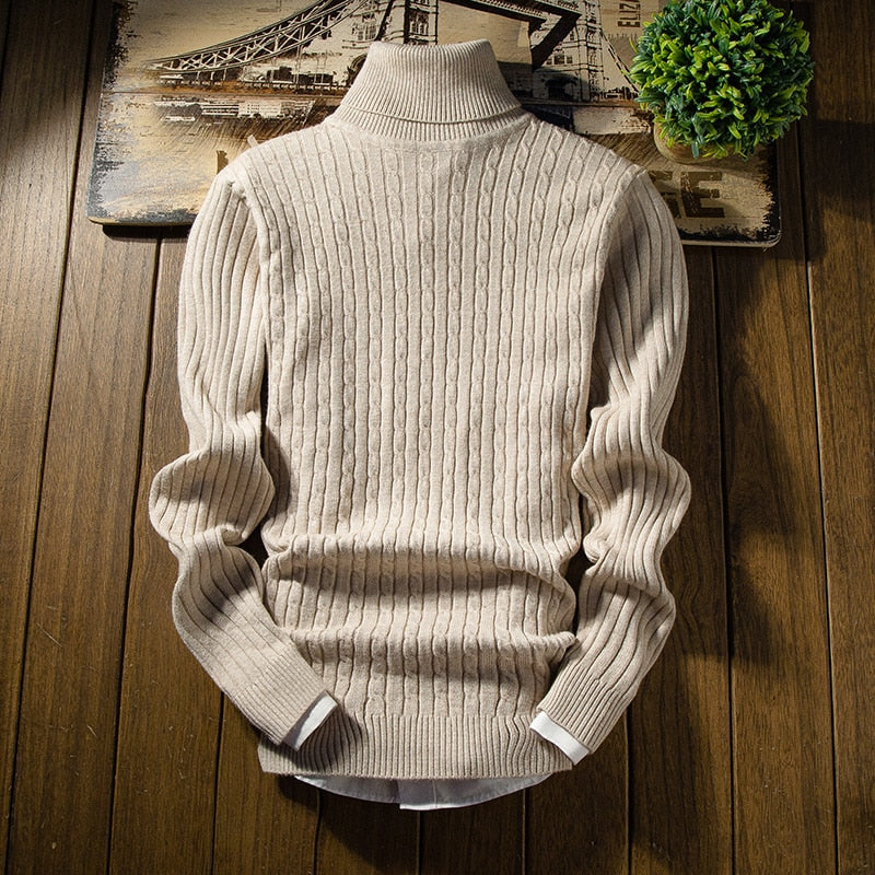 Classic Knit Pullover Sweater