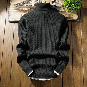 Open image in slideshow, Classic Knit Pullover Sweater