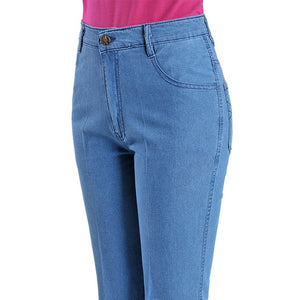 Open image in slideshow, Basic High Waist Jeans