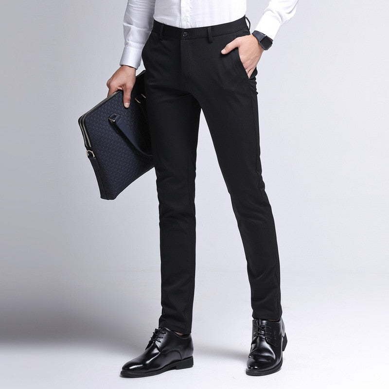 Classic Fit Business Pants