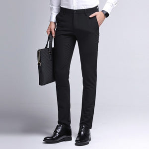 Open image in slideshow, Slim Fit Business Casual Pants