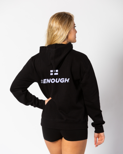 Oversized #ENOUGH Core Hoodie