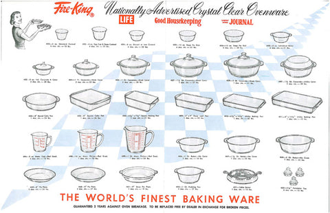 Fire King - The World's Finest Baking Ware