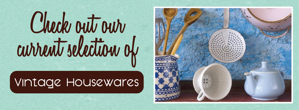 Housewares on Vintage Virtue