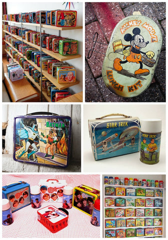 Vintage Lunch Box Collections