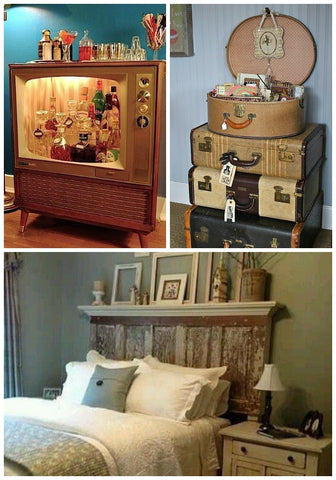 Reuse old home decor
