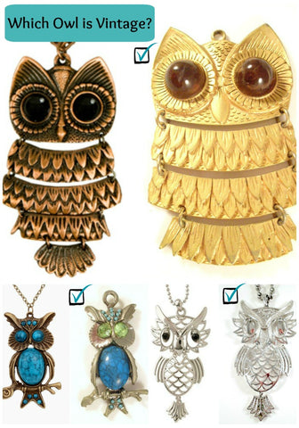 Vintage Owl or Reproduction?
