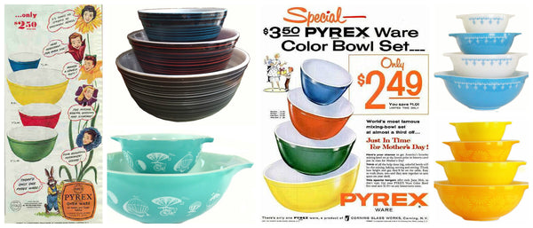 Vintage Pyrex Collage