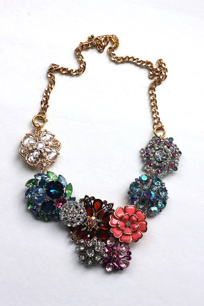 DIY brooch necklace