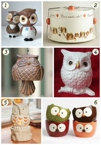Owl Lover Gift Guide 2014 | VintageVirtue.net