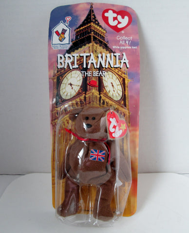 Teenie Beanie Britannia The Bear 1999